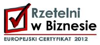 Firma Koperfam Sp z o.o. otrzymała europejski certyfikat Rzetelni w Biznesie